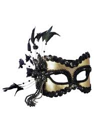 mardigras masks black and gold sequin and feather mardi gras mask