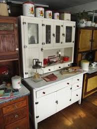 Old Fashioned Kitchen Cabinets Vintage Hoosier Style Cabinet Advertisment Let Hartman Feather