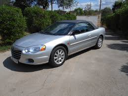 chrysler sebring 2 7 v6 gtc cabrio for sale the car trading company