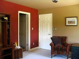 house charming two color walls with chair rail two tone dining