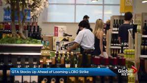 union sets up strike headquarters outside lcbo office days