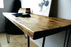 Wooden Computer Desk Plans Simple Wood Desk U2013 Hugojimenez Me