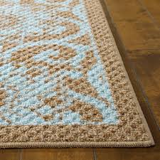 Turquoise Brown Rug Better Homes And Gardens Blue Blocks Area Rugs Or Runners