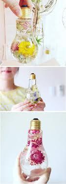 enchanting flowers suspended in light bulbs glisten like precious