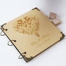 leather photo albums engraved personalized tandem bicycle engraved leather photo album