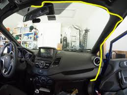 install the wiring for a dashcam on a 2014 ford fiesta