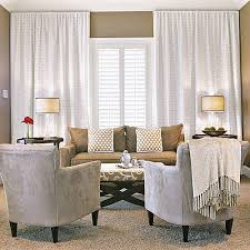 window treatment ideas for living rooms window treatments southern living