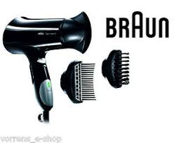 Hair Dryer Braun braun satin hair 5 dryer hd550 premium hair protection 2000w 2m ebay