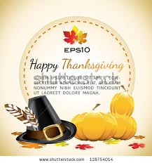 Happy Thanksgiving Pilgrims Thanksgiving Pilgrims Indians Stock Images Royalty Free Images