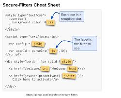 javascript quote html tags secure filters