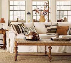 Wooden Arm Chairs Living Room Modern Style Living Room Wicker Ottoman Terra Cotta Vase Matching
