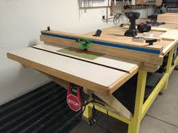 Diy Fold Down Table Diy Fold Down Router Table U2014 Formeremortals