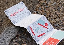 folded wedding invitations foldable wedding invitations accordion fold isure