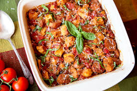 panzanella and sausage casserole bake it s like an italian