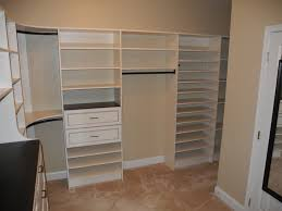 Hanging Closet Shelves by Curved Hanging Rods For Closets