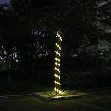 23ft 50led solar power rope light waterproof outdoor