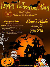 invitation flyer templates free halloween party flyer best word templates