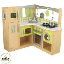 jeu d imitation cuisine kidkraft 53274 jeu d imitation coin cuisine vert et naturel