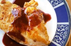 cuisine cassis chicken with cassis sauce recipe simplyrecipes com