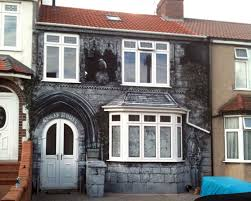 House Murals by Gothic Mural Bristol House Graffiti Artists For Hire Custom