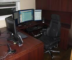 Computer Desk Setup Ideas Amazing Of Computer Desk Setup Top Office Decorating Ideas With