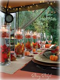 fall table centerpieces fall party table decorations homesforrent me