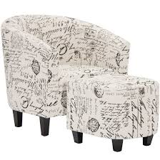 Barrel Accent Chair Best Choice Products Modern Contemporary Upholstered Barrel Accent