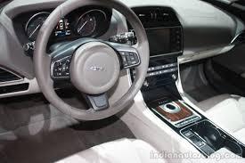 jaguar cars interior jaguar xe interior at 2015 detroit auto show indian autos blog