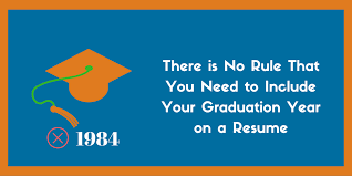 not to include in resume should you include your graduation year on your resume zipjob