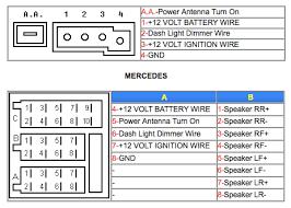 1996 e320 w210 diagram for speaker radio peachparts mercedes