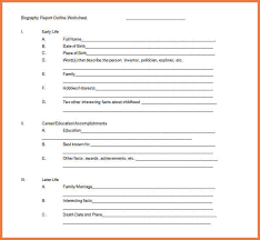 biography book report template pdf biography format bio letter sle biography report template how to