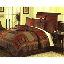 Comforter Orange Burnt Orange Bedding Brown And Orange Bedding Burnt Orange And