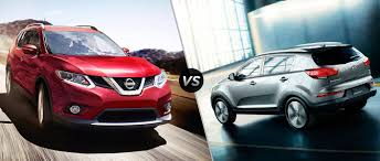nissan kicks vs juke 2016 nissan rogue vs 2016 kia sportage