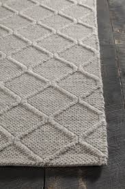 Brown Throw Rugs Sujan Collection Hand Woven Area Rug In Grey Design By Chandra