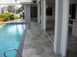 Flagstone Patio Cost Per Square Foot by Concrete Designs Florida Flagstone Patio