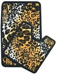 Leopard Bathroom Rugs Animal Print Bath Rug Animal Print Bath Mat Sets Zebra Print Bath