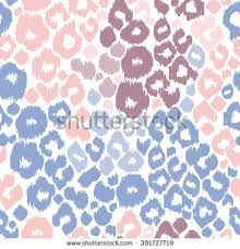 leopard print animal patterns color trend stock vector 391727719