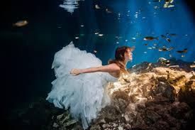 stephanie and erich u0027s riviera maya cenote trash the dress