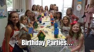 all things art studio kids birthday parties arts and crafts