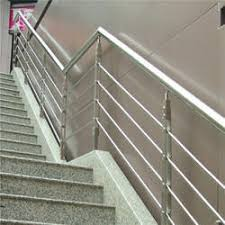 stainless steel banister rails modular handrail wall mounted handrail service provider from chennai