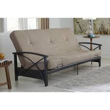 Futon Sofa Beds Walmart by Uncategorized Great Futon Sofa Bed Metal Frame Futons Sofa Beds