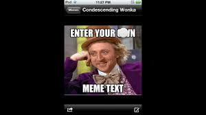 Meme Pictures With Captions - make a meme enter captions on pictures app review youtube