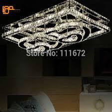 modern flush mount light led chandelier lustere home