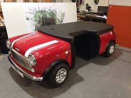 full size classic mini desk reception perfect for a car dealer or