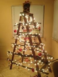 ladder christmas tree 16 ways to decorate a home with ladders christmas tree upcycle