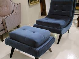 navy blue chair and ottoman modern navy blue accent chair with regard to impressive chairs