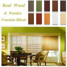 Vertical Blinds Wooden Wood Blinds Ebay
