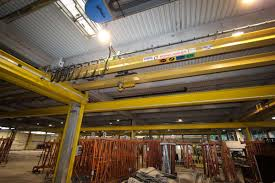 automatic gantry crane loading and storage system