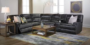Sectional Sofas Richmond Va 6 Piece Power Reclining Top Grain Leather Sectional Haynes