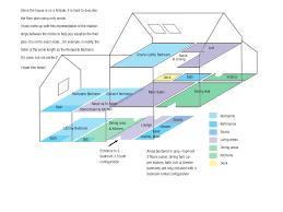 Floor Plan Of The House Floor Plan La Maison Remparts Flavigny Sur Ozerain Burgundy France